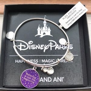 Alex and Ani Disney Parks bracelet